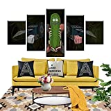Canvas Painting 5 Piece HD Printed Modern Home Decoration Panel Wall Art Poster Pictures Living Room Modern Home Decoration SJDBF