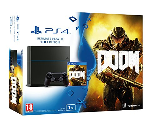 Sony PS4 PlayStation 4 1TB Console + DOOM