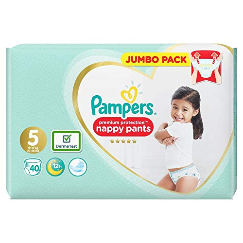 Pampers Premium Protection Pants Größe 5, 40 Windeln