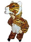 Tiger-Kostüm, F14 Gr.86-92, für Klein-Kinder, Babies, Tiger-Kostüme für Fasching Karneval, Kleinkinder-Karnevalskostüme, Kinder-Faschingskostüme, Geburtstags-Geschenk Weihnachts-Geschenk