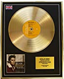 Everythingcollectible Elvis Presley/Edition Limitee/Cadre Disque d'or CD Vinyle/Where NO One Stands Alone