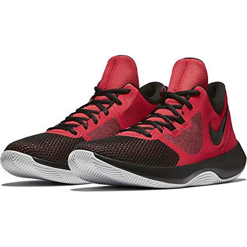 Nike Herren Air Precision Ii Fitnessschuhe, Mehrfarbig (University Red/Black/White 600), 42 EU