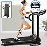 Fitnessclub Folding Electric Motorised Treadmill Walking Running Machine Incline Fitness Exercise Cardio Jogging