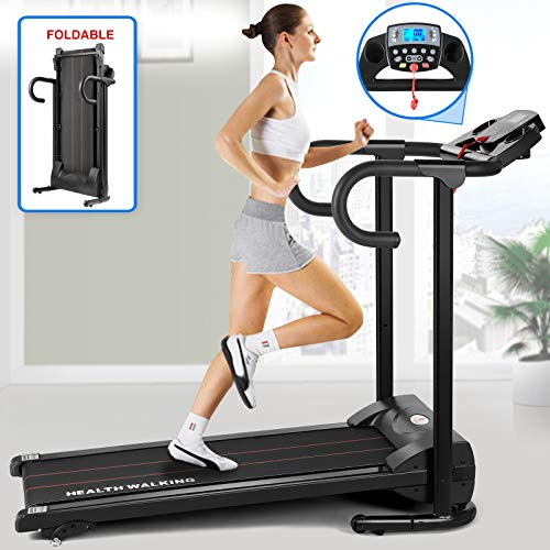 Fitnessclub Folding Electric Treadmill