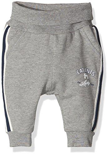 Sanetta Baby-Jungen Jogginghose 113784, Grau (Chrom Mel. 1549), 80