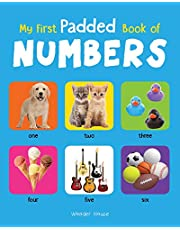 My First Padded Book of Numbers Early Learning Padded Board