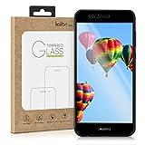 kalibri Huawei Nova 2 Plus Folie - 3D Glas Handy Schutzfolie für Huawei Nova 2 Plus - Auch für gewölbtes Bildschirm