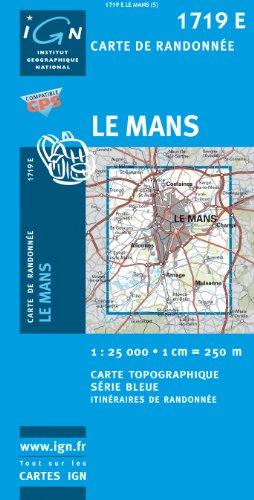 Carte de randonnée : Le Mans