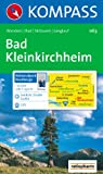 Bad Kleinkirchheim, Nationalpark Nockberge: Wander-, Bike-, Langlauf- und Skitourenkarte. GPS-genau. 1:25.000