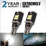 2 pcs T15W W16 erreur 921/912 Canbus sans feux de stationnement inverser la sauvegarde de la lumière ampoule de la lampe LED Super Bright Blanc