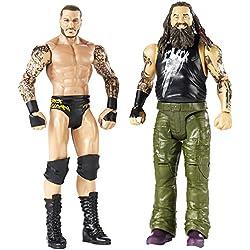 Mattel fmf72base personaggi WWE Randy Orton e Bray Wyatt Boys, confezione da, 15cm