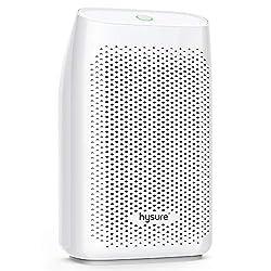 Entfeuchter Mini Raumentfeuchter Hysure Luftentfeuchter mit 700ml Wassertank Elektrisch Entfeuchter Dehumidifier gegen Feuchtigkeit, Schmutz und Schimmel zu Hause, in der Küche, im Schlafzimmer, Wohnwagen, Büro und Garage