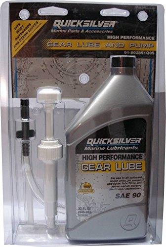MerCruiser HIGH PERFORMANCE Getriebeöl, für alle Antriebe, 946mLmit Pumpe