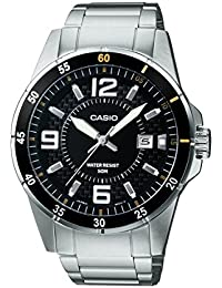 Casio Enticer Analog Black Dial Men's Watch - MTP-1291D-1A2VDF (A414)