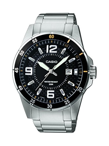 Casio Enticer Analog Black Dial Men's Watch