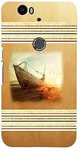 PRINTVISA Travel Beach Boat Case Cover for Huawei Nexus 6P