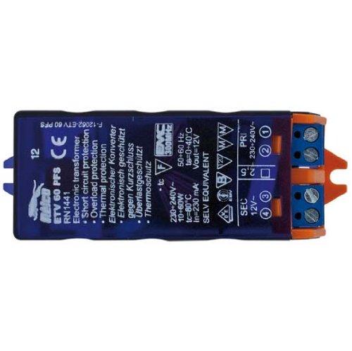 elektronischer Micro Trafo Mini Halogentrafo 60W VA 12V - 60 Va Elektronische