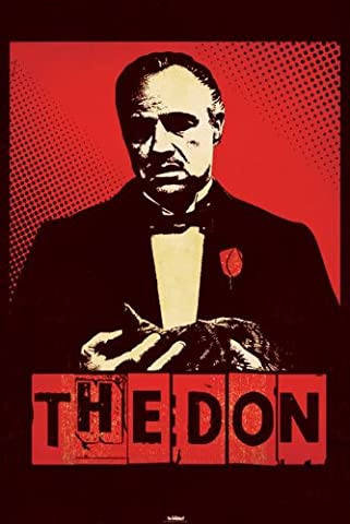 Pyramid International The Godfather, The Don Maxi Poster