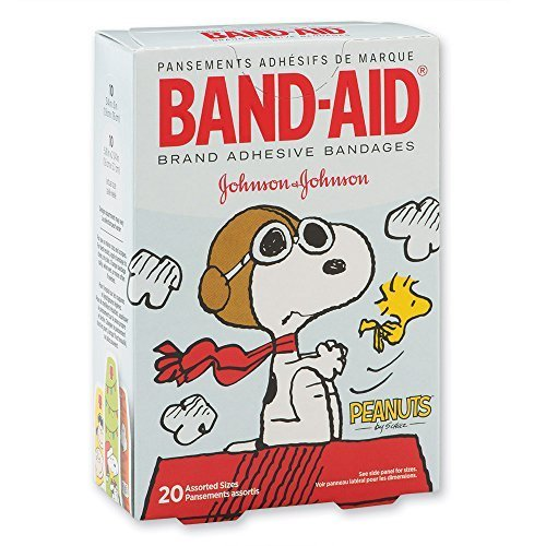 band-aidr-peanuts-bandages-first-aid-supplies-20-per-pack-by-smilemakers