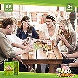 Spielehelden Dorfkinder – Trinkspiel für einen feucht-fröhlichen Abend oder als Party Zubehör fürs Festival – Lustige Geschenke für Männer – Partyspiele für Erwachsene ab 18 – Alkohol Geschenke Mann - 4