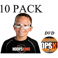 hoopsking Basketball Dribble Brillen 10 Pack Plus Workout-DVD