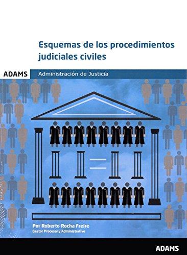 Esquemas de los procedimientos judiciales civiles por Roberto Rocha Freire