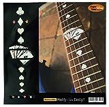 Griffbrett Marker Inlay Aufkleber Decals für Gitarre–Spielkarte–WP