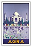 Pacifica Island Art Agra, Indien-Taj Mahal-Vintage
