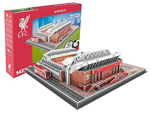 Estadio Anfiled (Liverpool FC) - Nanostad - Puzzle 3D (Producto Oficial Licenciado)
