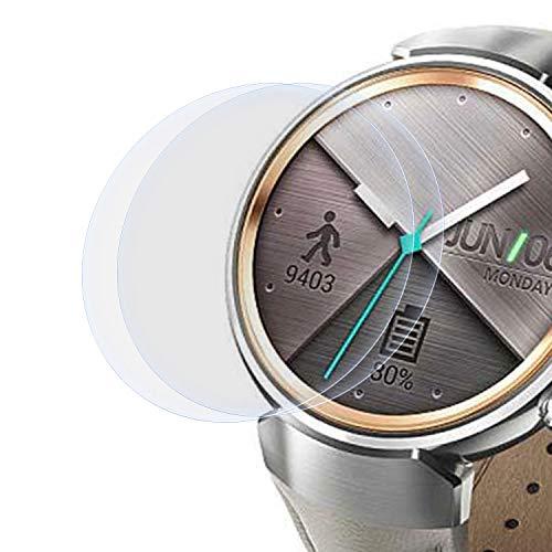 zanasta 2 Stück Schutzfolie kompatibel mit Asus Zenwatch 3 (1,39