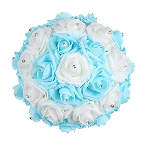 Vlovelife Bouquet de mariage mariée demoiselle d