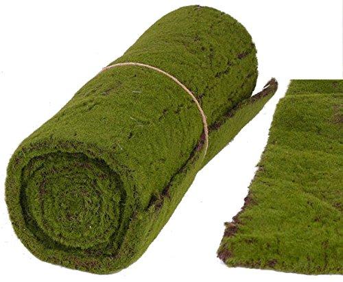 kunstpflanzen-discount.com Moos Deko große Ausführung, künstliche Moosmatte mit 50x205cm - Deko für Innenbereich