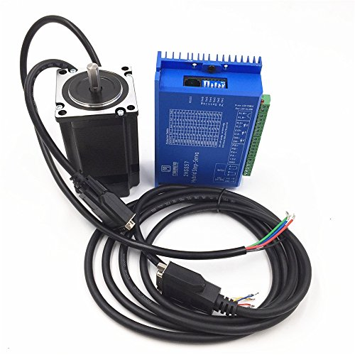 Geschlossen Loop Stepper Motor Drive CNC Kit 2Phase 1Nm NEMA234A 1000line Encoder (Geschlossene Motor)
