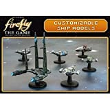 Firefly Gale Force Nine Customizable Ship Models Game