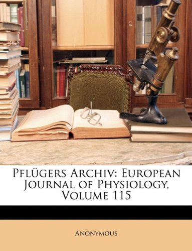 Pflügers Archiv: European Journal of Physiology, Volume 115