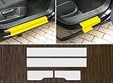 passgenau für VW Tiguan, 2007-2016, Lackschutzfolie transparent Einstiegsleisten Einstiege Türen