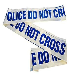 10 Metre Length Police Line Do Not Cross Novelty Barrier Tape