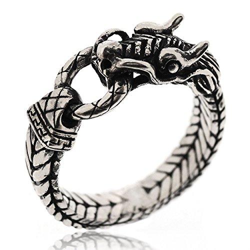 Sovats Herren Drachen-Ring, Größe 62