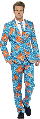smiffys-mens-goldfish-suit-jacket-pants-and-tie-size-m-color-blue-and-orange-43530