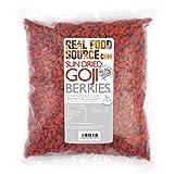 RealFoodSource Goji Berries 1kg Free From Preservatives & Sulphites