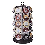 35 K-Cups Pods Carousel Storage Coffee Holder Rack Organizer K Cups Cup