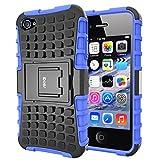 Best Etui pour téléphone iPhone 4 Cases - Coque iPhone 4S Armor Support Protection Étui Apple Review