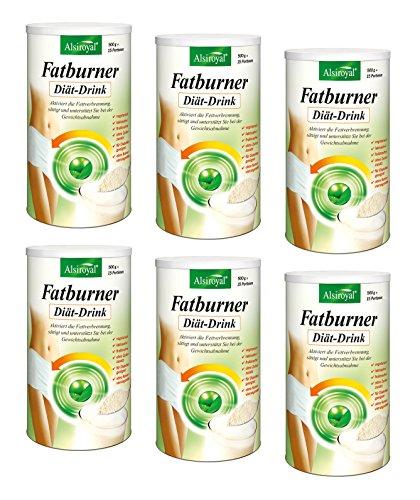 ALSIROYAL Figura Fatburner Diät-Drink 6 x 500g NEU