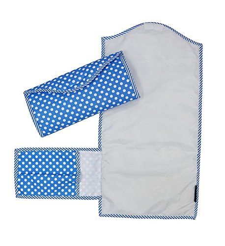 Wobbly Walk Diaper Changing Mat/Clutch Mat (Blue)