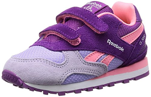 Reebok Bd2441, Scarpe da Trail Running Bambina Porpora (Aubergine/Peppy Pink/Lavendar/White)