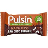 PULSIN Riegel Maca Bliss Raw Choc Brownie, 18er Pack (18 x 50 g)