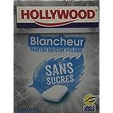 Hollywood Chewing Gum Menthe 5 boîtes 14,5 g - Lot de 4