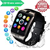 Smartwatch, FENHOO SN06 Smart Watch con SIM Card Slot Camera Touch Screen Orologio Intelligente Cellulare per Android Samsung Huawei Xiaomi ios iphone 11 X 8 7 6 6s 5 Uomo Donna Bambini (Argento)