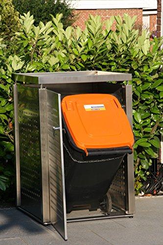 Mülltonnenbox für 1 Mülltonnen 240 l - 3