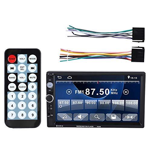 Zerone Auto-Video-Player, HD Bluetooth 4.0, Doppelspindel, Autoradio, MP5-Player, Bildschirm Cinch-Anschluss